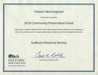 Historic NE certificate